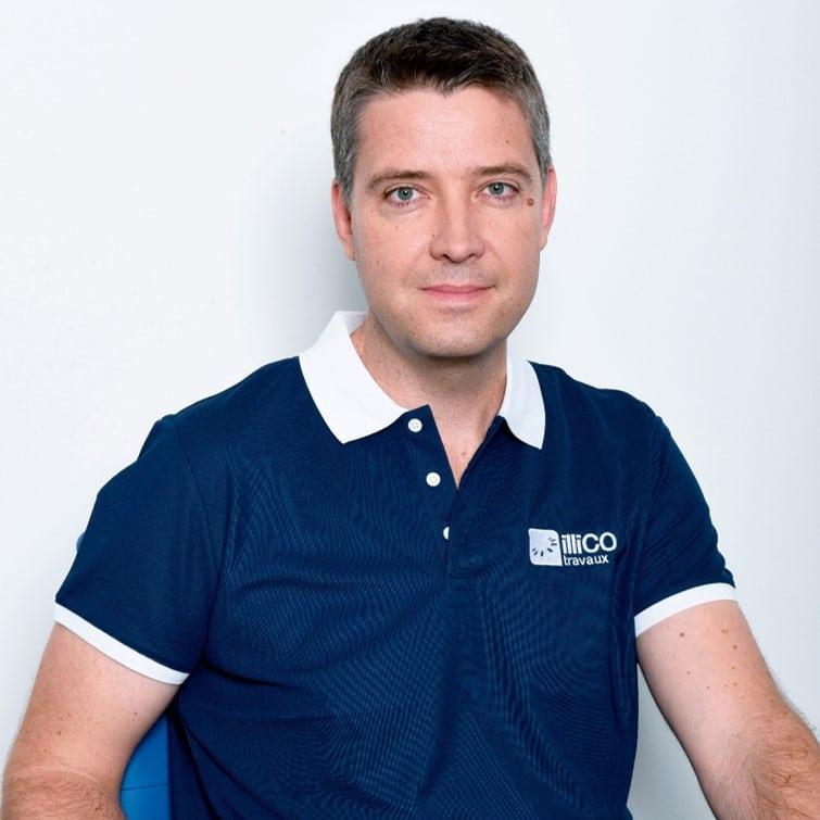 DAUMONT Nicolas Président et Créateur d'illiCO travaux