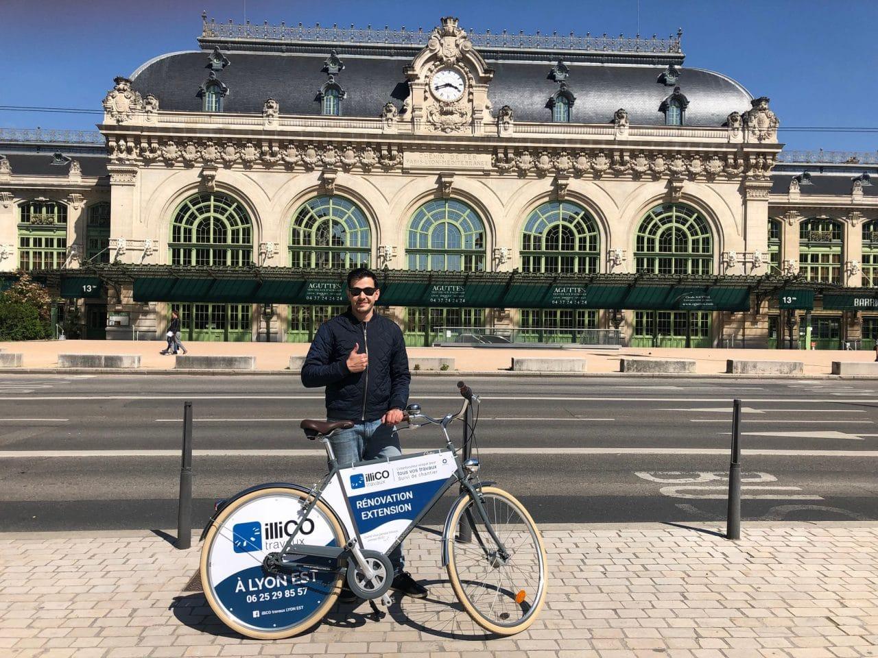 Rémy Chassin vélo illiCO travaux Lyon Est