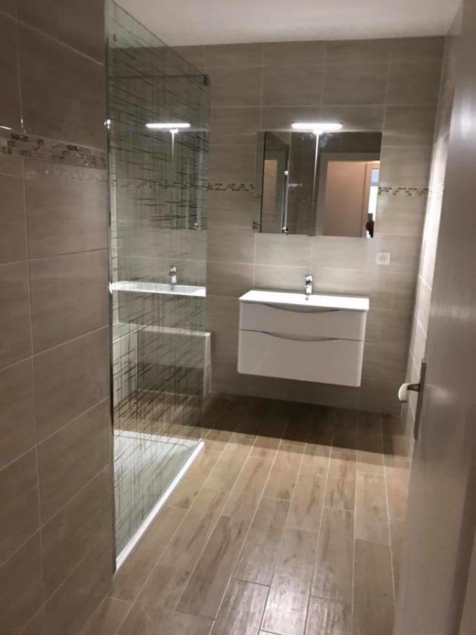 Rénovation complète d'un appartement - salle de bain