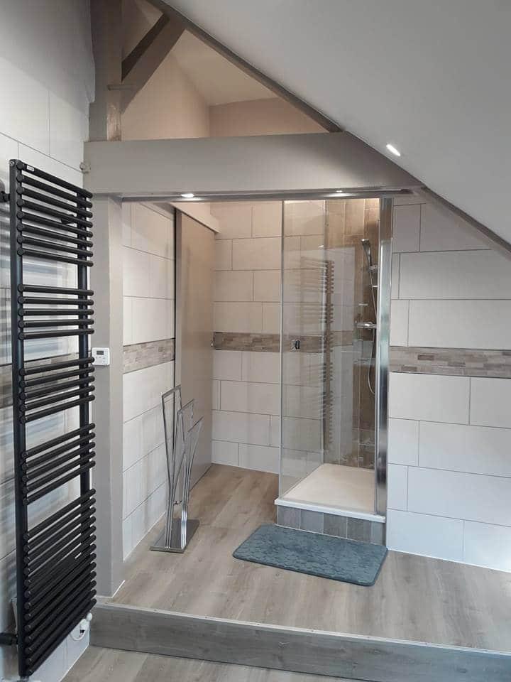 rénovation de salle de bain sous combles