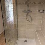 Rénovation complète d'un appartement - salle de bain - douche à l'italienne