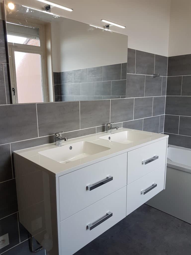 Rénovation d'une salle de bain – Lille Nord-Ouest (59)