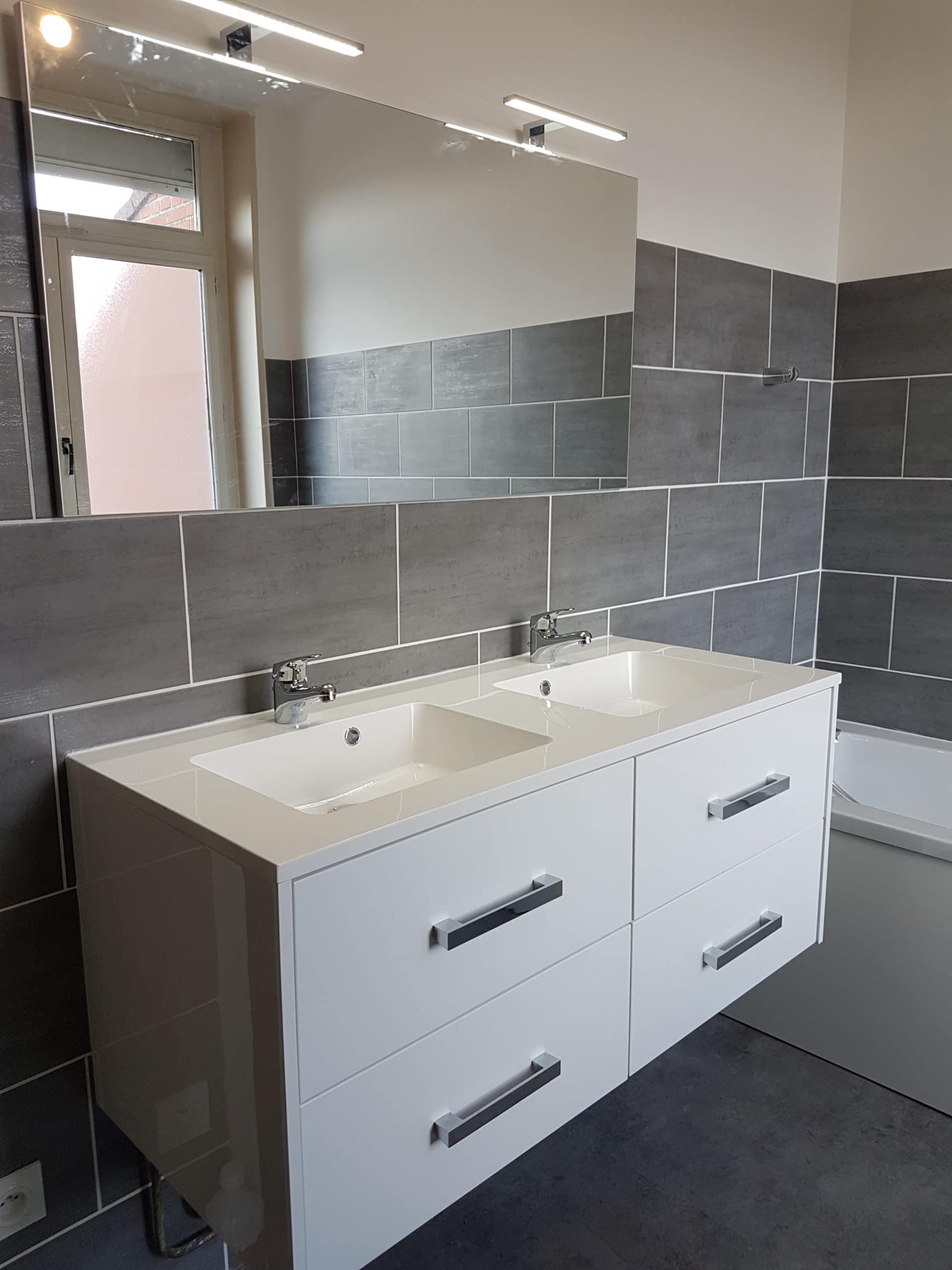 r novation d 39 une salle de bain r novation int rieure lille nord ouest. Black Bedroom Furniture Sets. Home Design Ideas