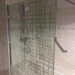 Rénovation complète d'un appartement - salle de bain - paroi de douche