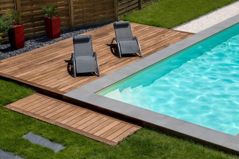 Construction piscine hors sol