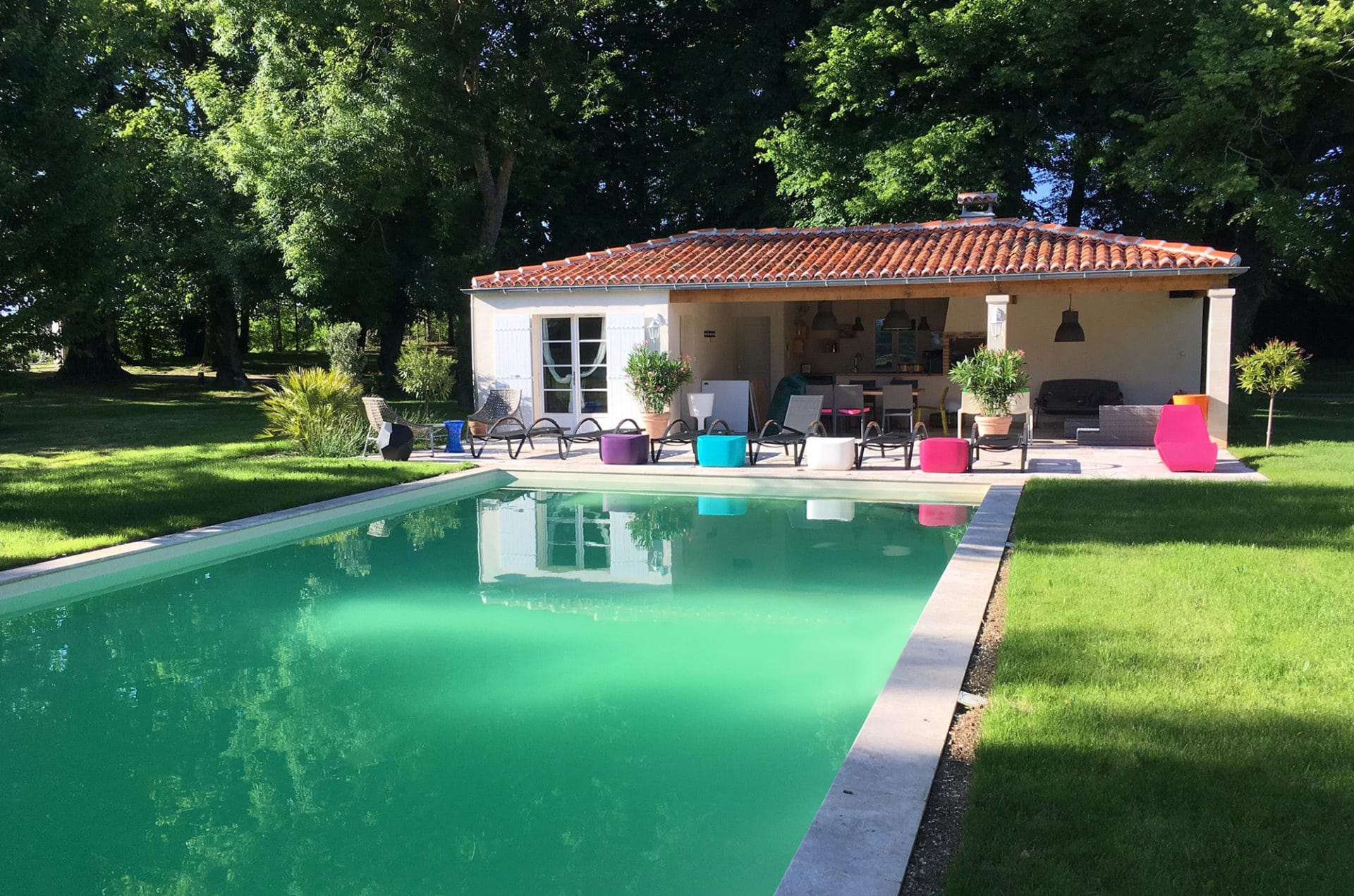 Construction d'un pool house – Saintes (17)