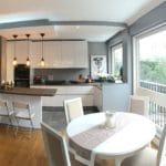 Rénovation de cuisine sol et plafond