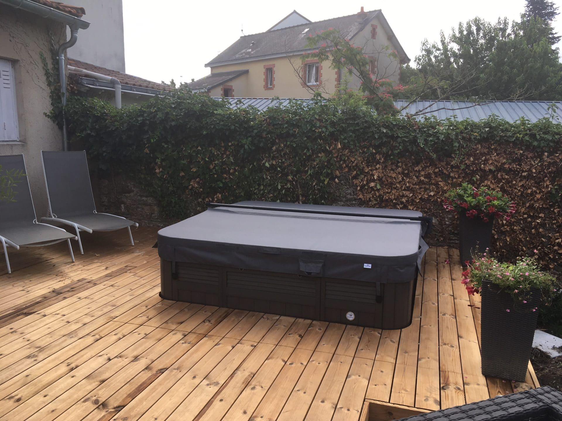 Aménagement de terrasse à Nantes (44)