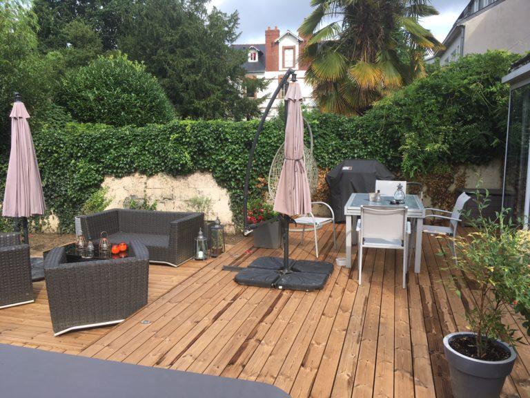 Aménagement de terrasse - Rénovation d\'extérieur - Nantes (44)
