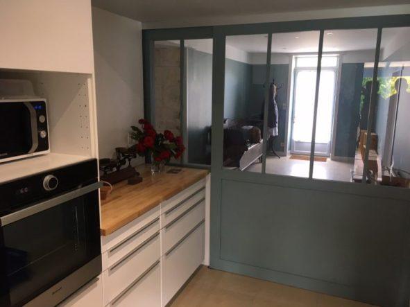 rénovation de cuisine à Saintes