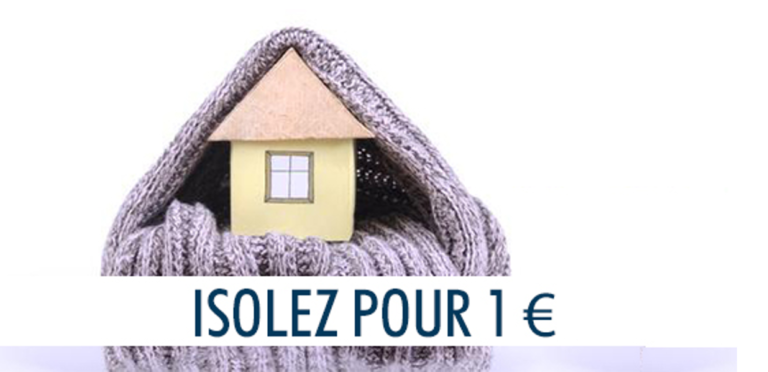 Comment faire isoler sa maison avec la mesure isolation à 1€ ?