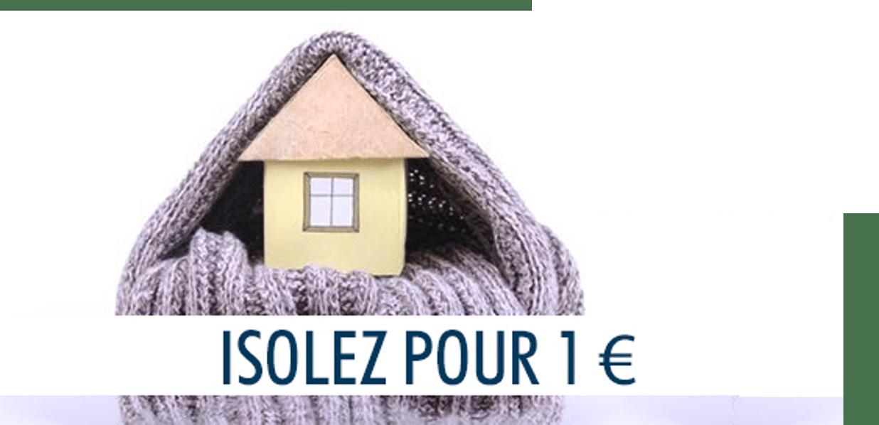 isolation maison a 1€