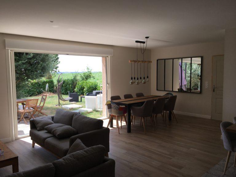 Rénovation de maison à Fourquevaux (31)