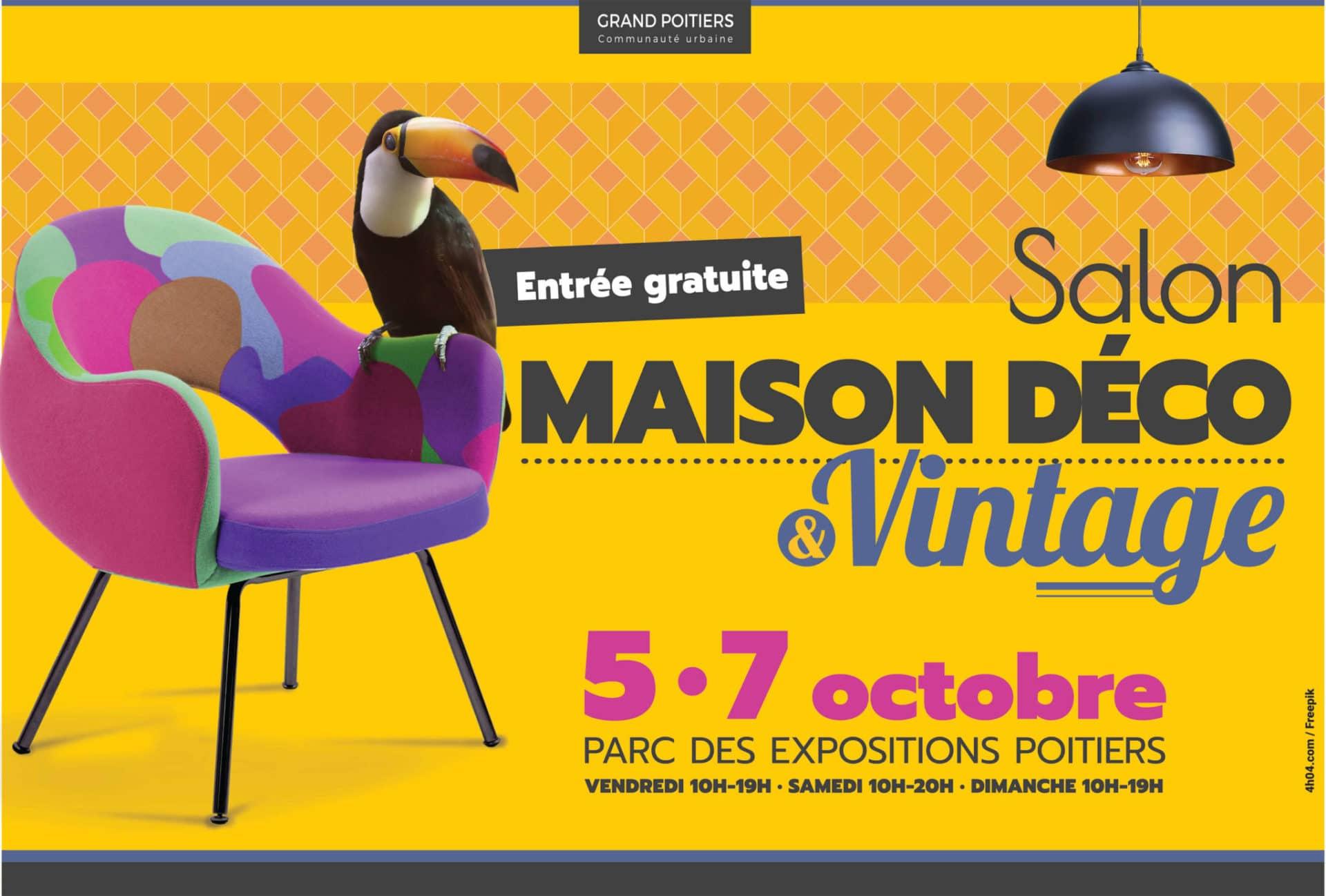Retrouvez Xavier Thiaudière au salon Maison Déco et Vintage de Poitiers
