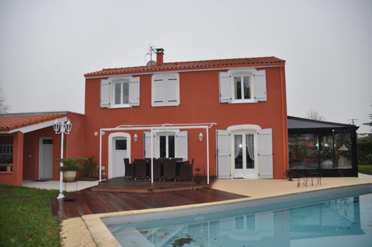 Rénovation extérieure de maison – Toulouse (31)