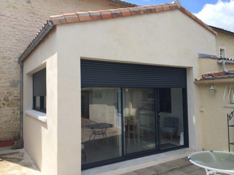 Agrandissement de maison avec aménagement de cuisine à Niort (79)
