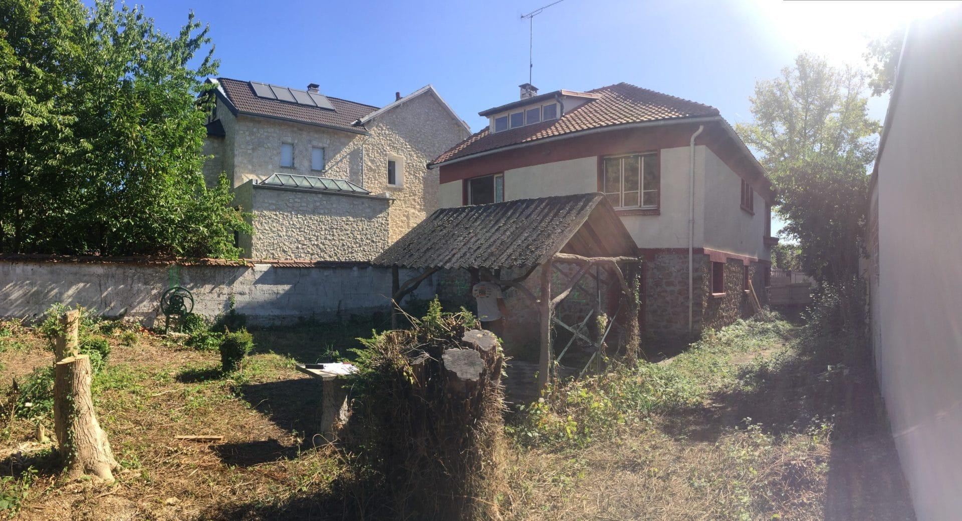 Agrandissement de maison à Chelles (77)