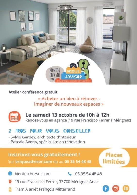 conférence Brique Advisor de Bordeaux