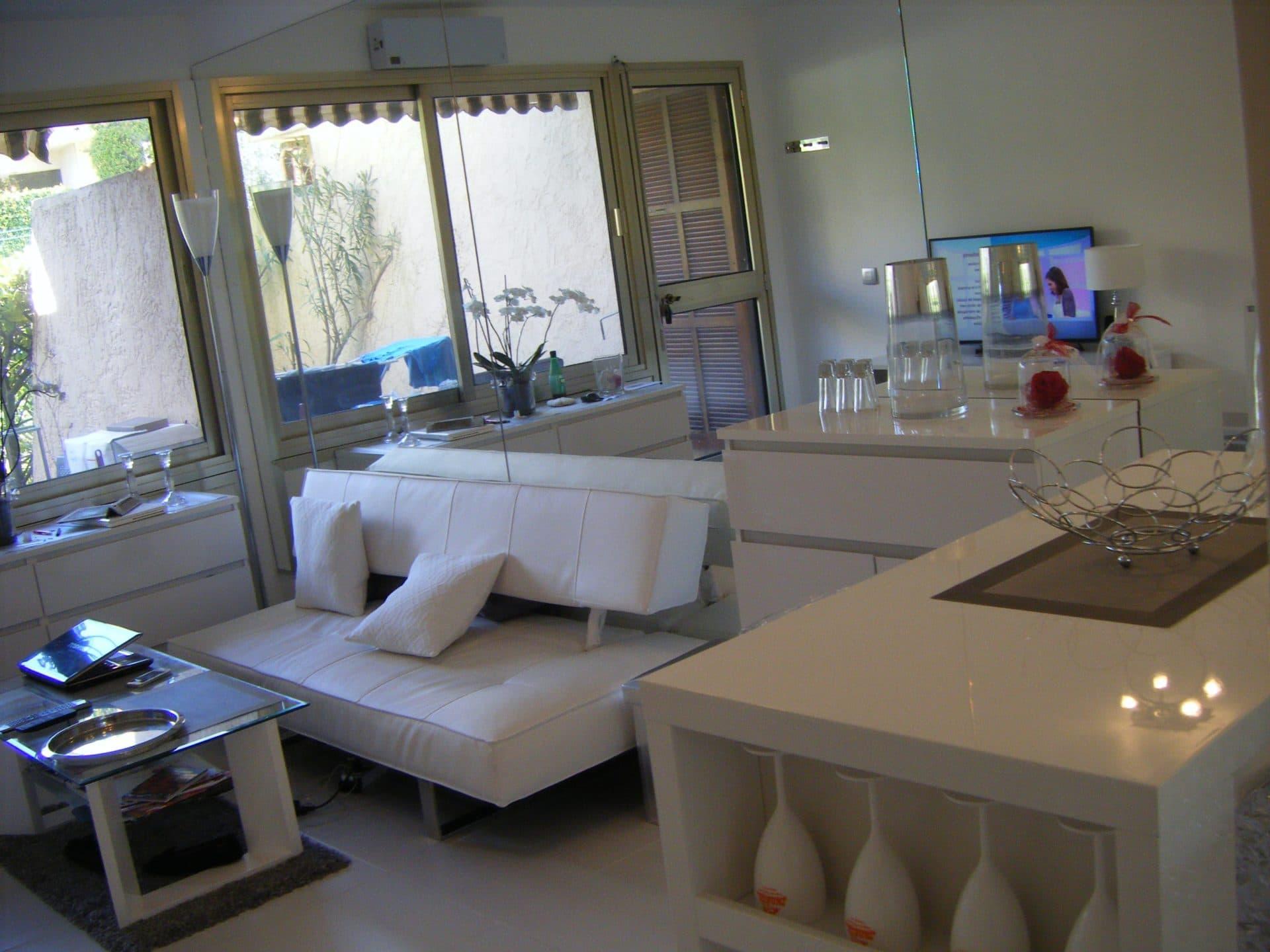 Rénovation de studio à Antibes (06)