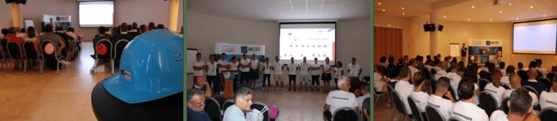 séminaire illiCO travaux 2018 sur l'Île de Bendor