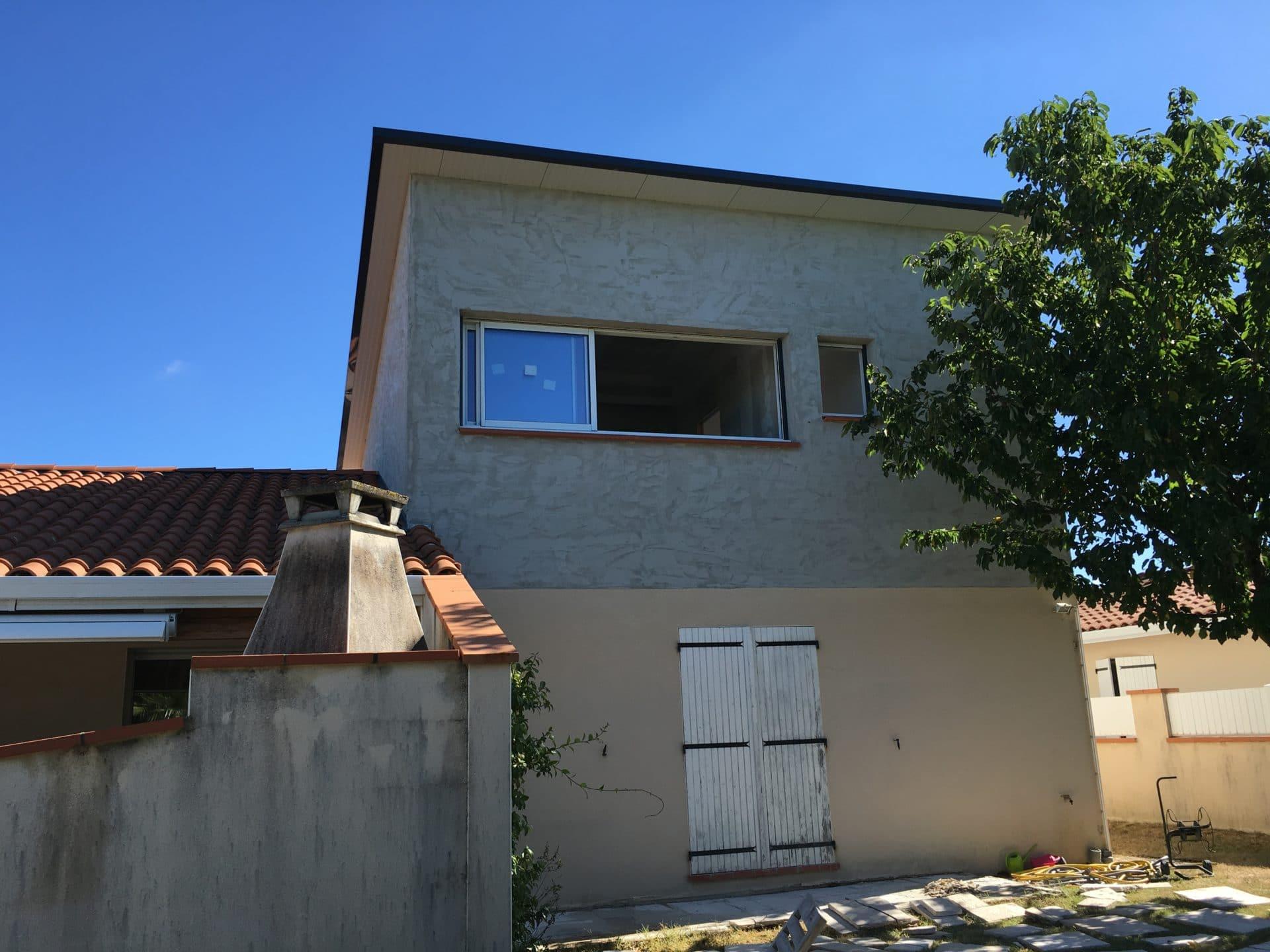 Surélévation de maison à Beauzelle (31)