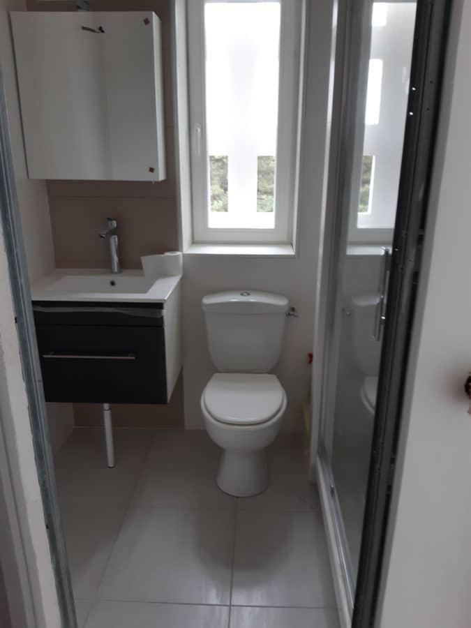 création d'une salle de bain dans un appartement à Nantes