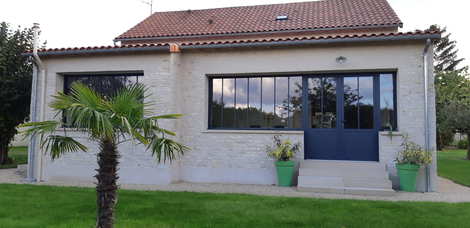 Extension de maison à Loudun (86)