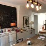 Rénovation d'une maison à Fontaines-sur-Saône - meubles sur mesure