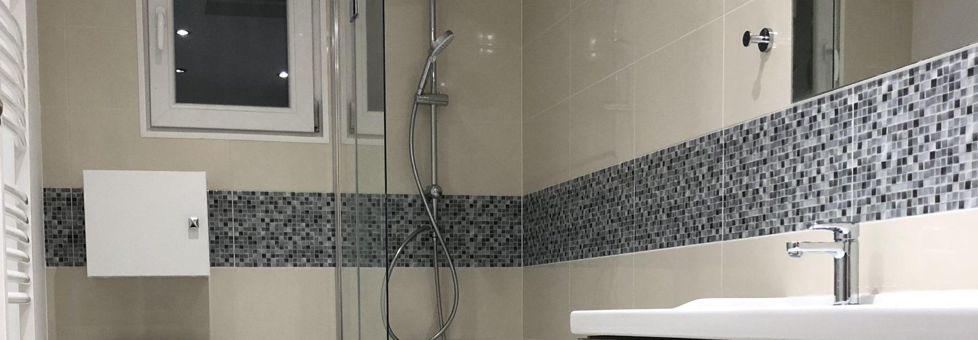 Rénovation d'une salle de bains à Anthon (38)