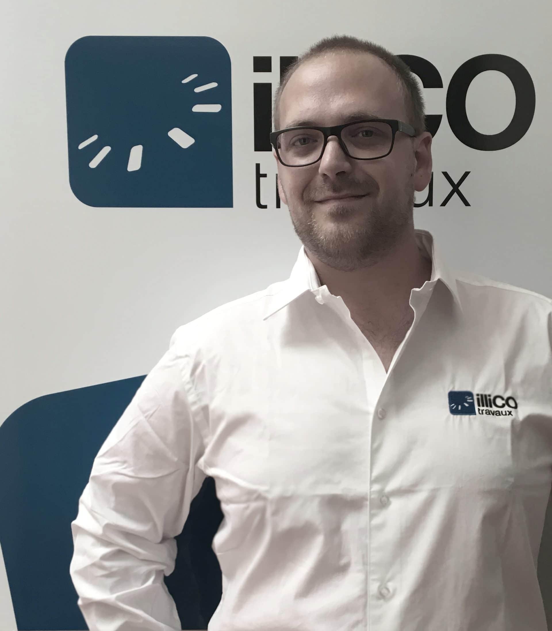 Témoignage vidéo de Nicolas CORDES, responsable de l'agence illiCO travaux Ormoy