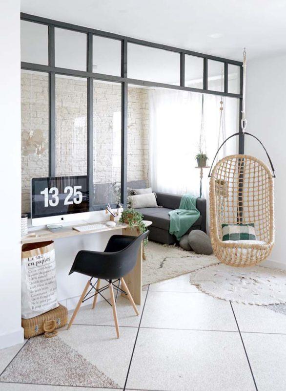 verrière d'atelier - intérieur moderne