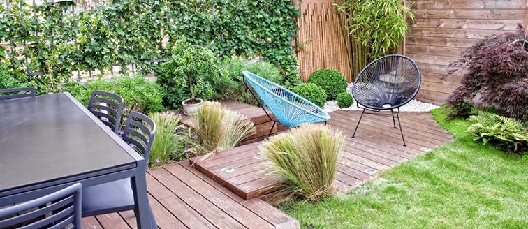 aménagement extérieur - création d'une terrasse
