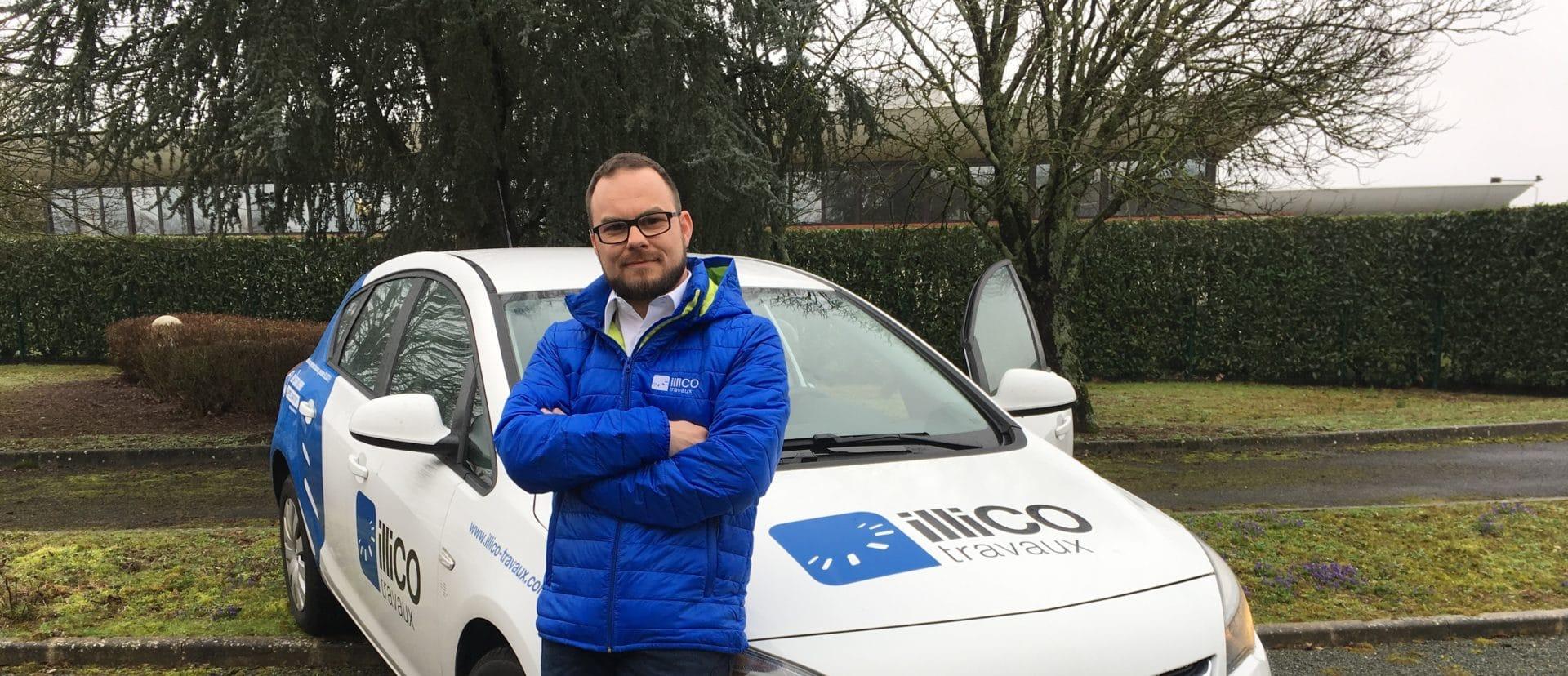 Témoignage vidéo de Nicola POMILIO, responsable de l'agence illiCO travaux Strasbourg