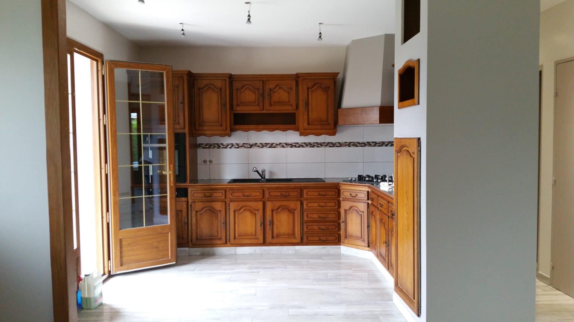 Rénovation d'une maison près de Châtellerault (86)