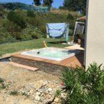 Réalisation d'un spa semi enterré à Toulouse (31)