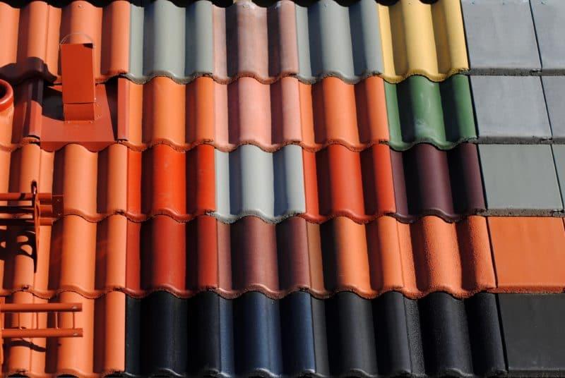 terre cuite - tuiles de couleurs
