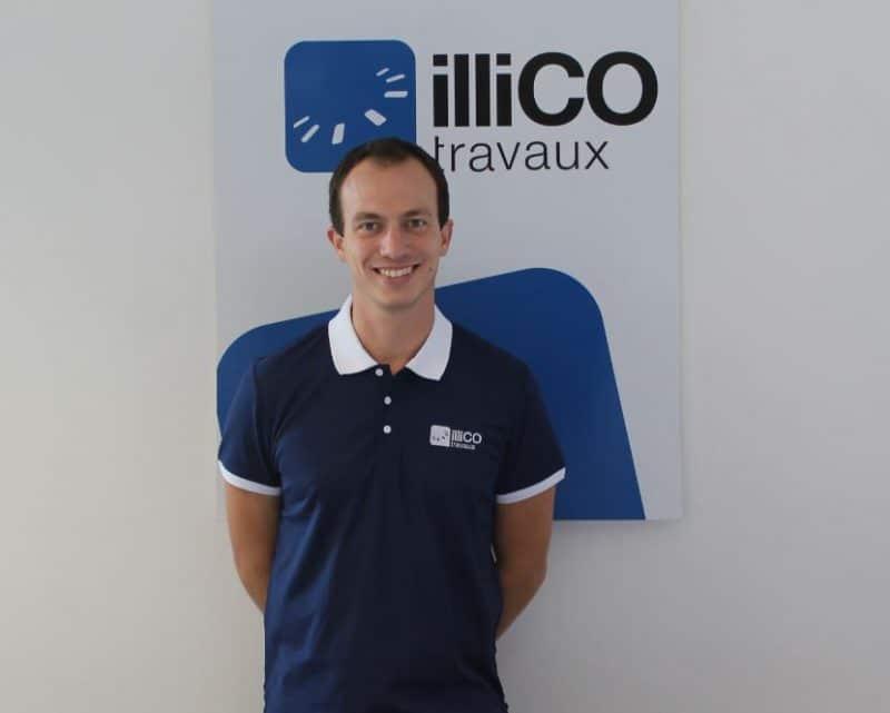 Alexandre Lepomme responsable de l'agence illiCO travaux La Roche sur Yon