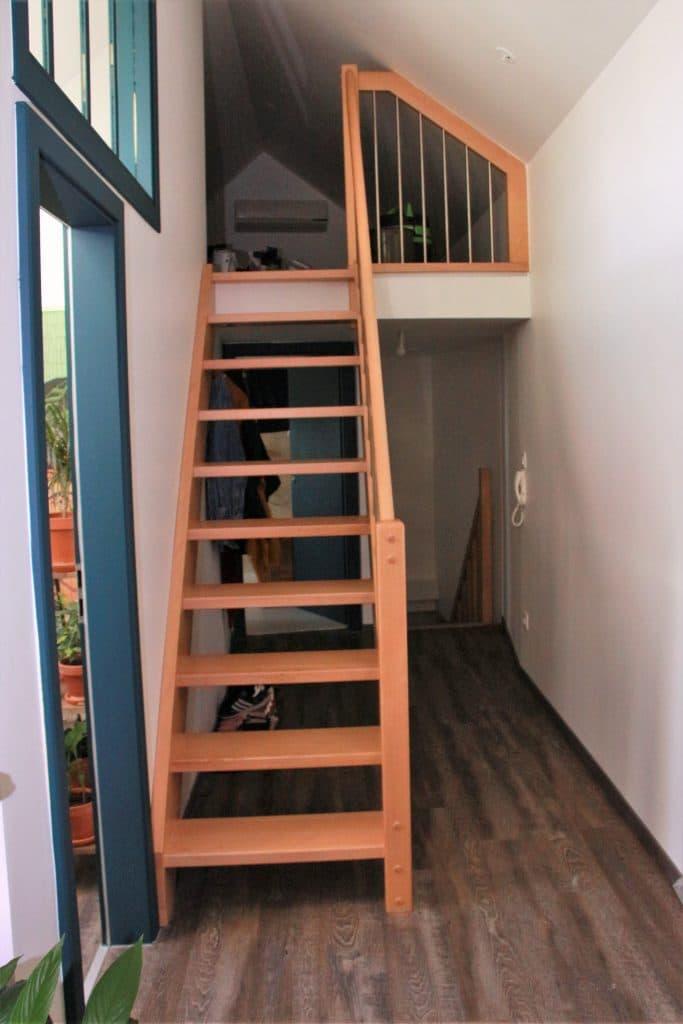 Création d'un appartement sous les combles à Strasbourg - Aménagement