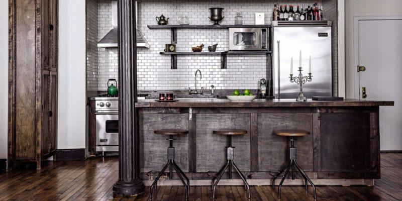 rénovation cuisine style industriel