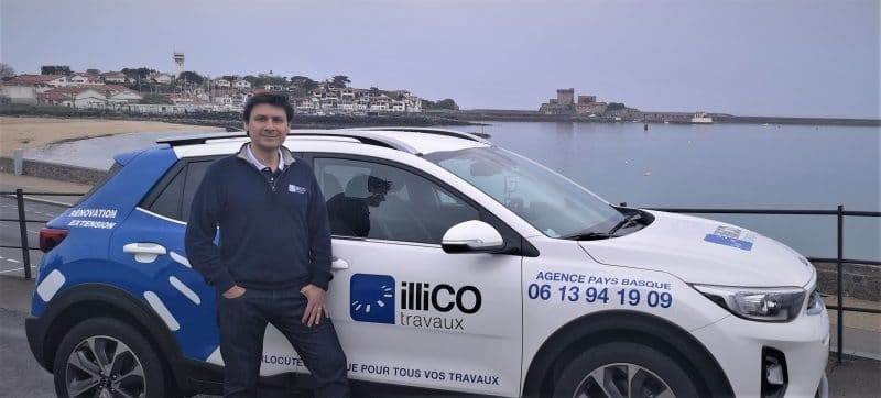 Luis Urtiaga responsable d'illiCO travaux Pays Basque