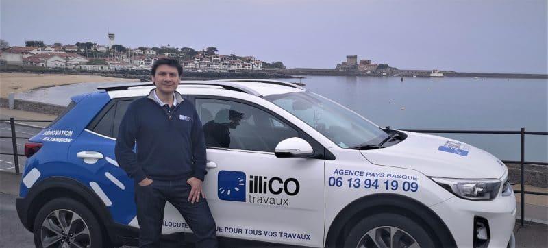 Luis Urtiaga responsable d'illiCO travaux Pays Basque
