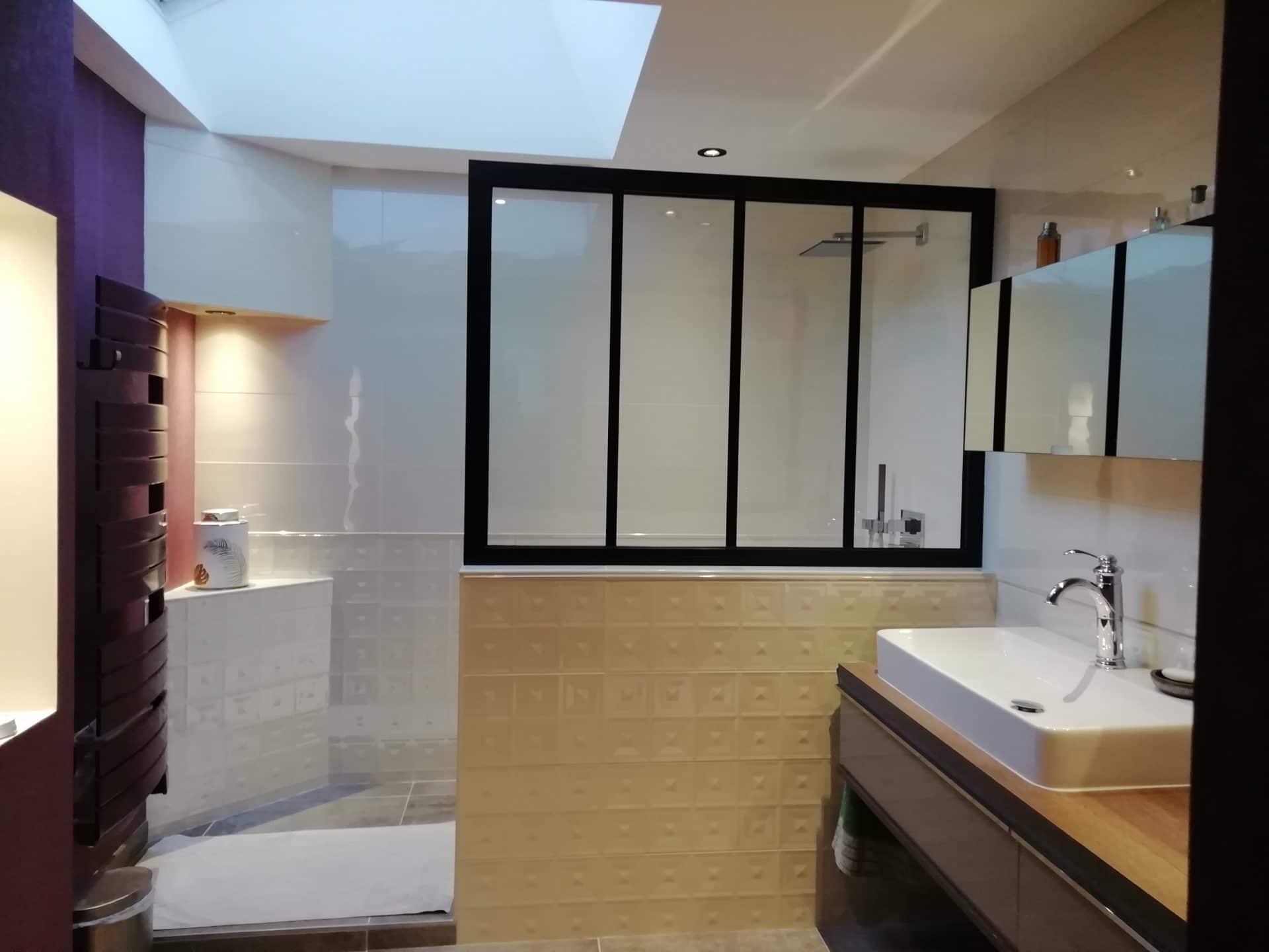 Rénovation de salle de bain à Fougères - Aménagement intérieur