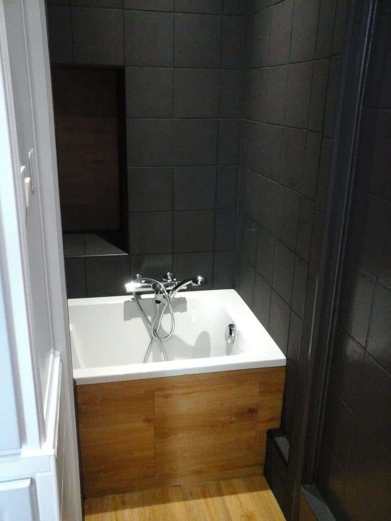 Rénovation d'une salle de bain à Freneuse (27)