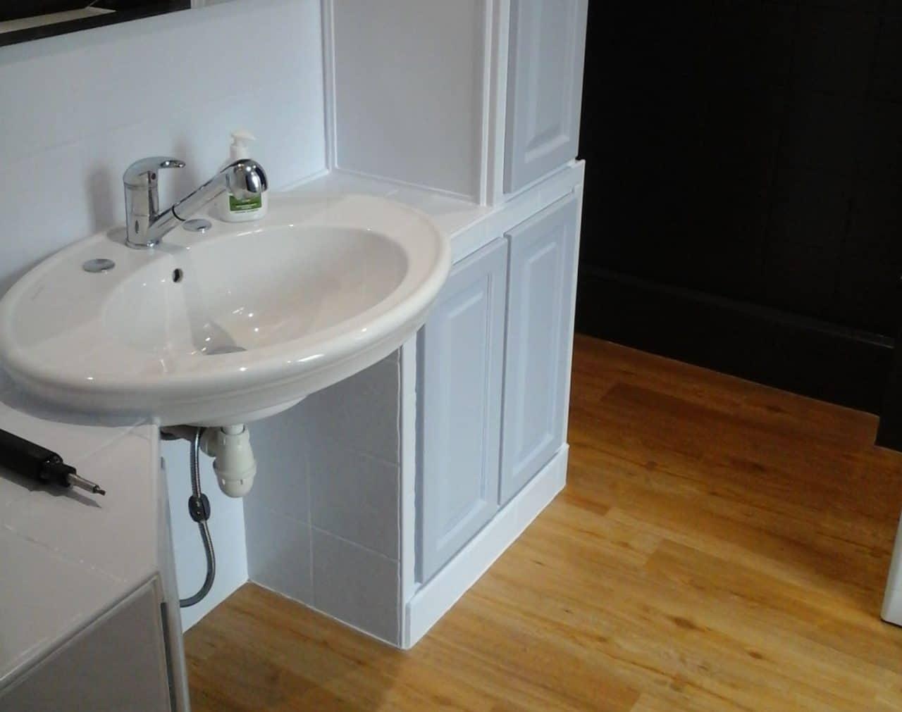 Rénovation d'une salle de bain à Freneuse