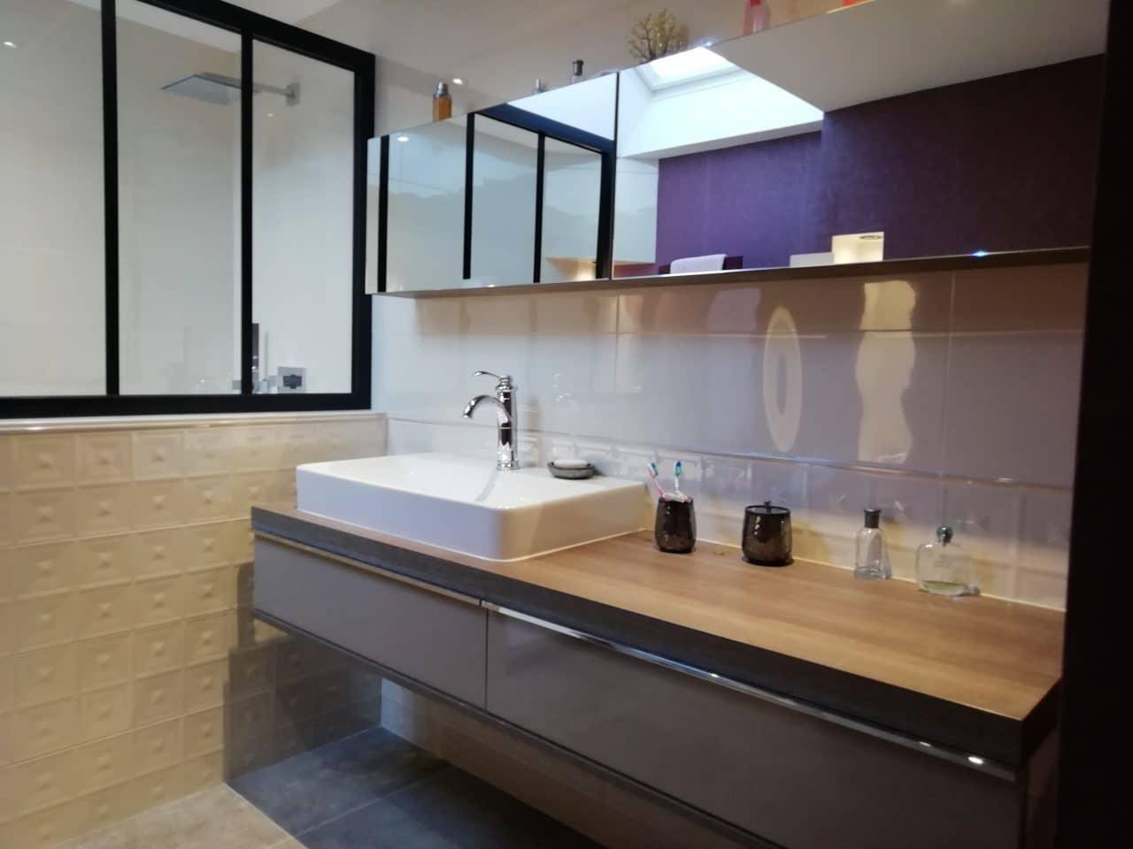Rénovation de salle de bain à Fougères