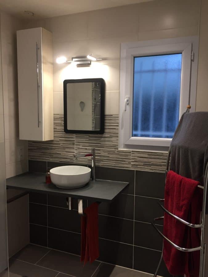 Rénovation de salle de bain à Neuillé-Pont-Pierre