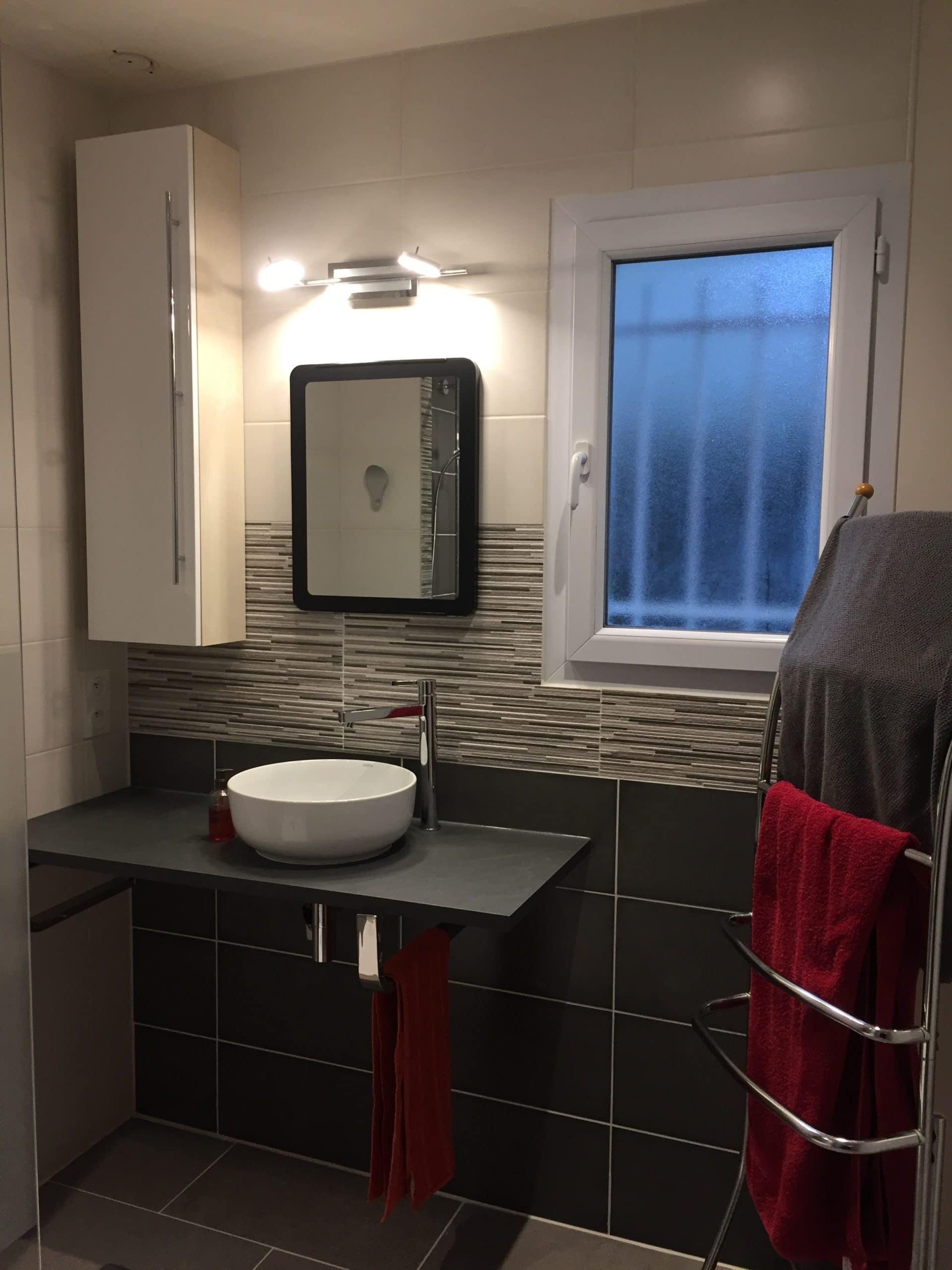 Rénovation de salle de bain à Neuillé-Pont-Pierre (37)