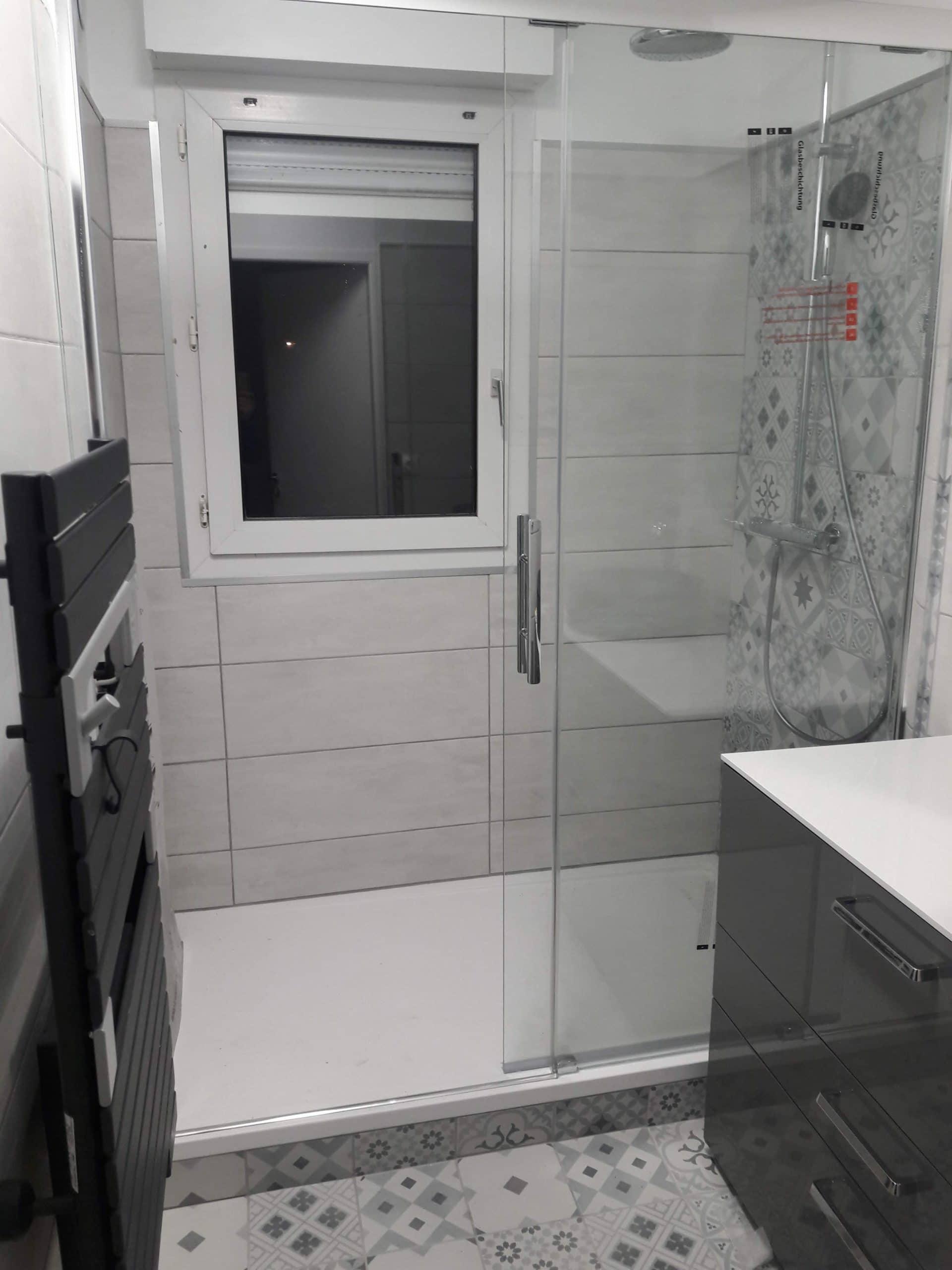 Rénovation de salle de bain à Roubaix (59)