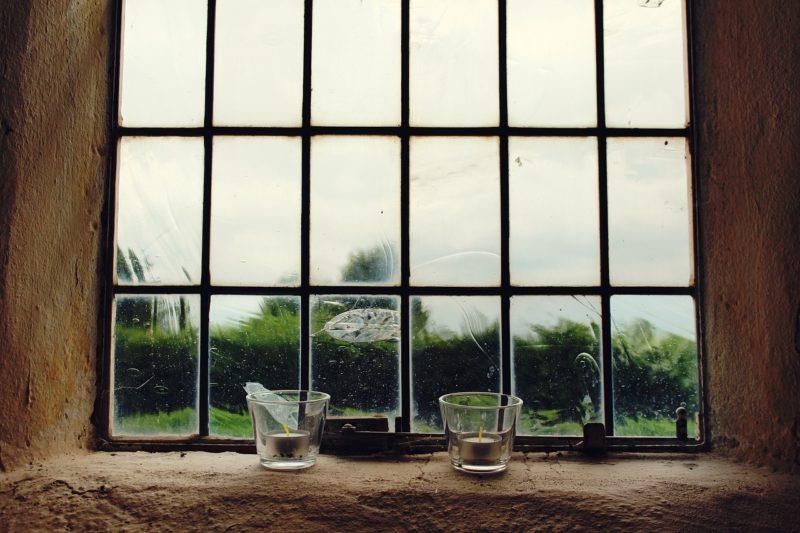 fenêtre en simple vitrage