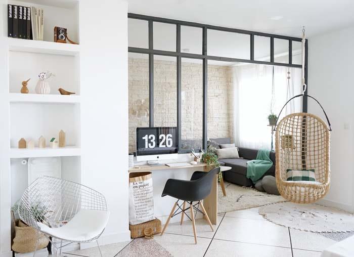 verrière intérieure - style atelier